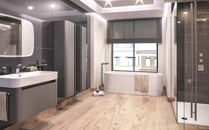 modern bathroom design from cheltenham branch