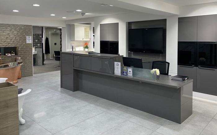Birmingham kitchen reception desk